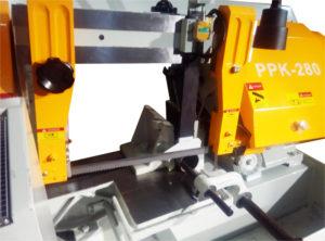 Полуавтоматическая ленточная пила по металлу VISPROM PPK-280