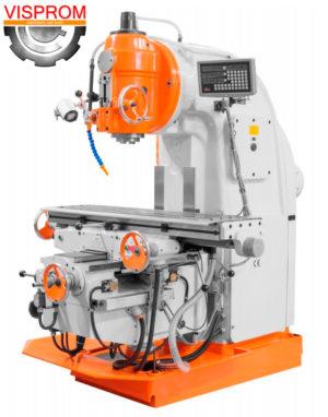 Вертикальный фрезерный станок по металлу с УЦИ VISPROM FH-170