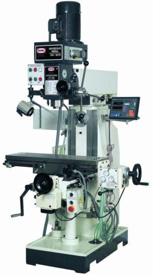 Универсальный фрезерный станок PROMA FHV-50PD с цифровым измерением