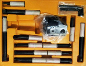 Расточная головка с набором резцов PROMA VH-75/12SET