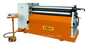 Вальцы гидравлические STALEX W11F-6X2000