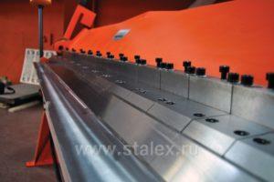 Станок листогибочный ручной сегментный Stalex W2.0x2040A