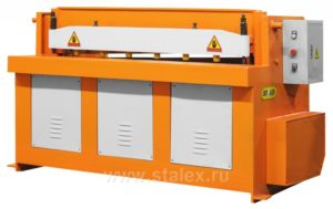Гильотина электромеханическая Stalex SBJB 2×1300