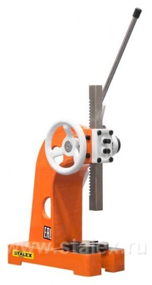 Пресс реечный с храповым механизмом Stalex RAP-3