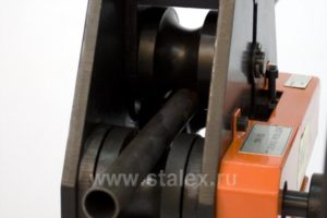 Станок профилегибочный ручной Stalex TR-50 со стойкой