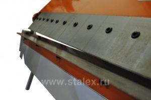 Станок листогибочный ручной сегментный Stalex W1.5x1260A