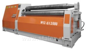 Станок вальцовочный гидравлический STALEX W12-8Х2000