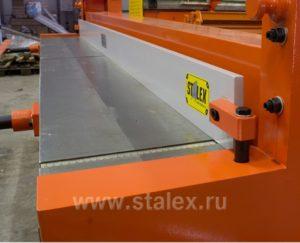 Гильотина ножная Stalex Q01-1.5х1500