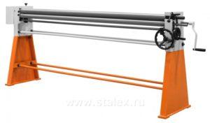 Станок вальцовочный ручной Stalex W01-0,8х2050